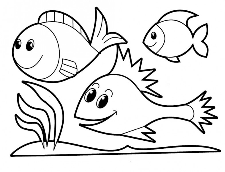 coloring pages of fish aaldtk