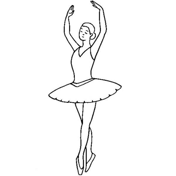 printable ballerina coloring pages coloring me