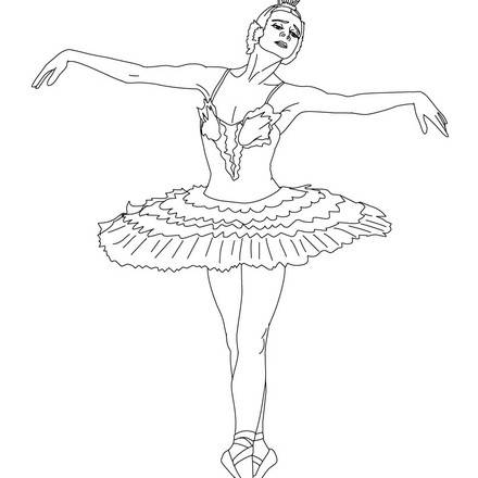 ballerina printable coloring pages coloring page ballerina coloring