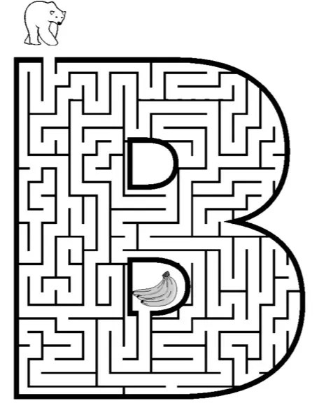 maze coloring pages # 9
