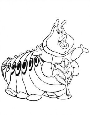 monarch caterpillar coloring page monarch butterfly ...