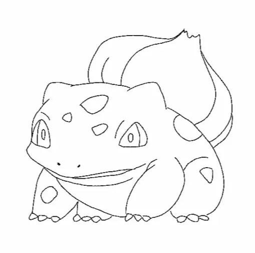 bulbasaur pokemon amp coloring book