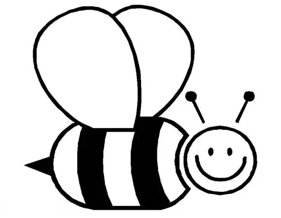 Bumble Bee Coloring Page Coloring Page Book For Kids