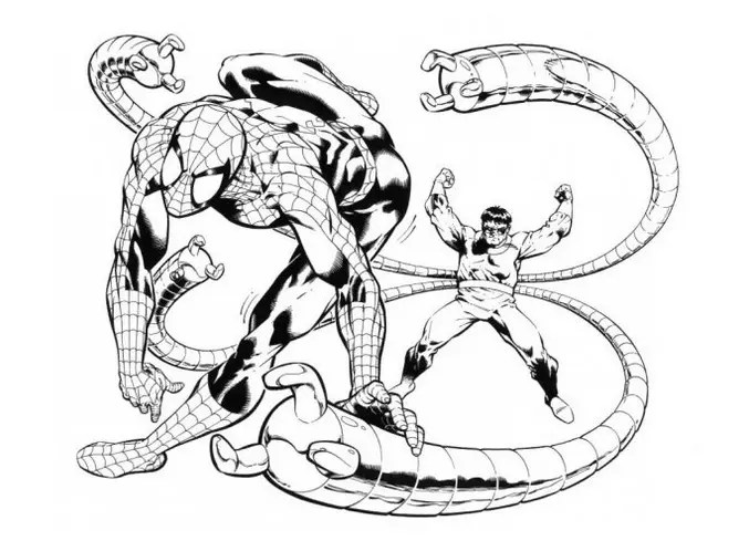 spiderman coloring page amp coloring book