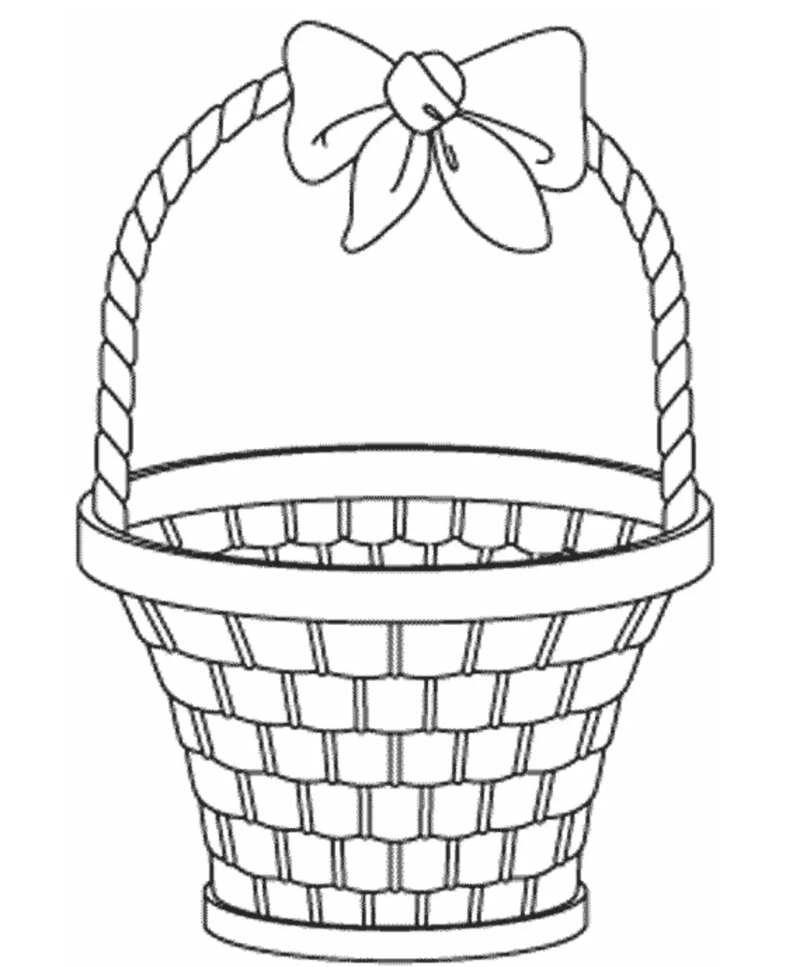 Empty Easter Basket Amp Coloring Book
