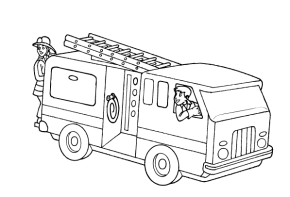 printable fire truck coloring pages amp coloring book