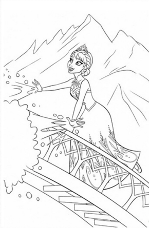 Movies Shrek And Donkey Coloring Page Frozen Coloring