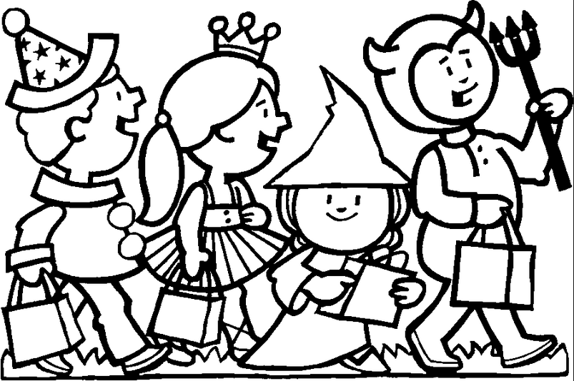 halloween costumes coloring page amp coloring book