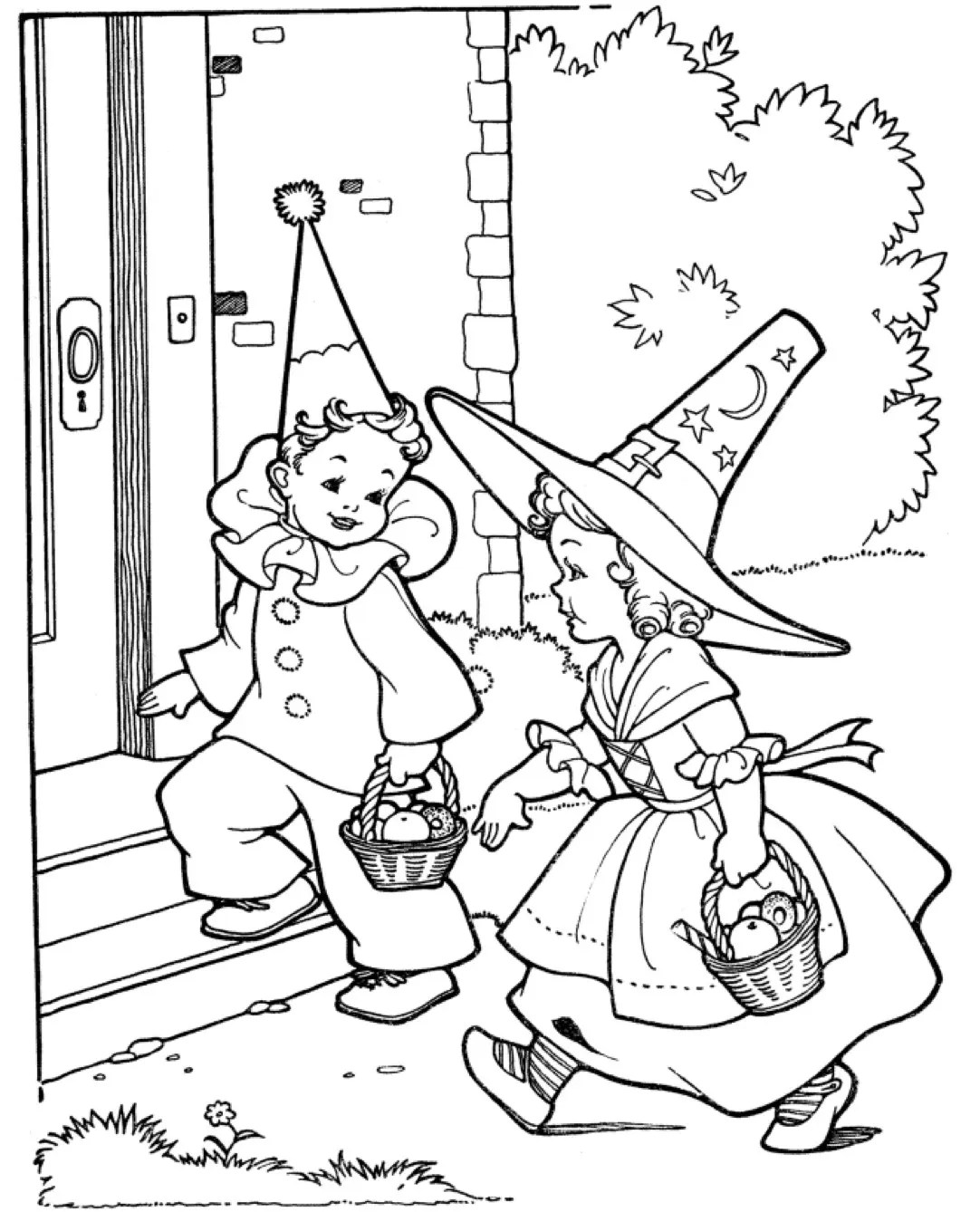 halloween party amp coloring book