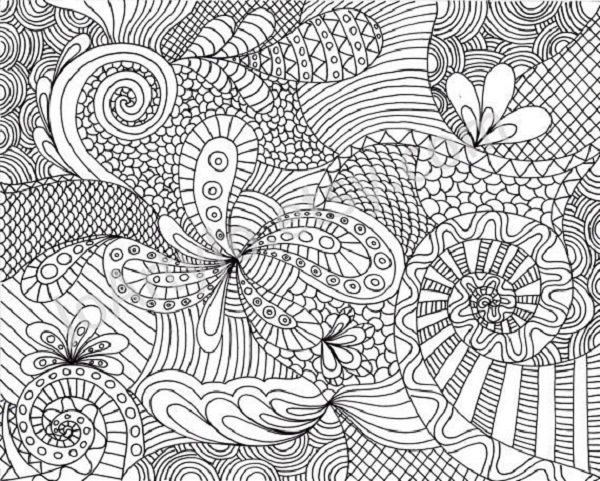 hard coloring page amp coloring book