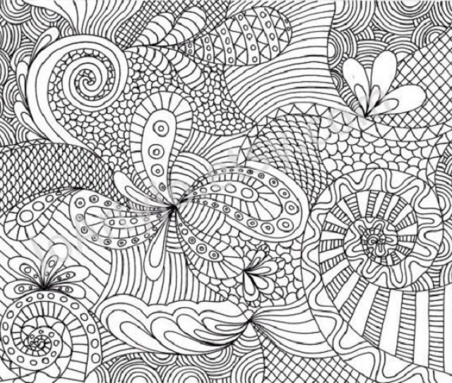 Hard Coloring Page Coloring Page Book For Kids
