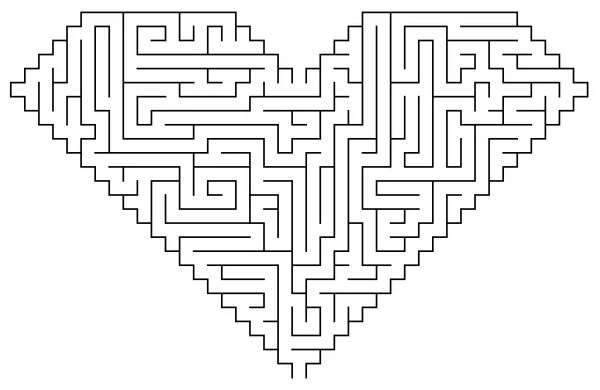 maze coloring pages # 11