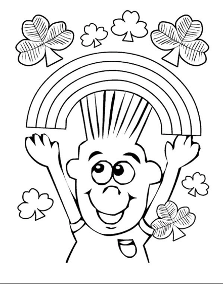 happy march coloring page amp coloring book