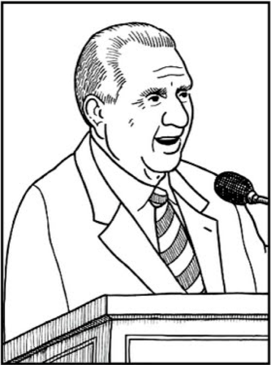 Printable President Thomas S Monson Coloring Page