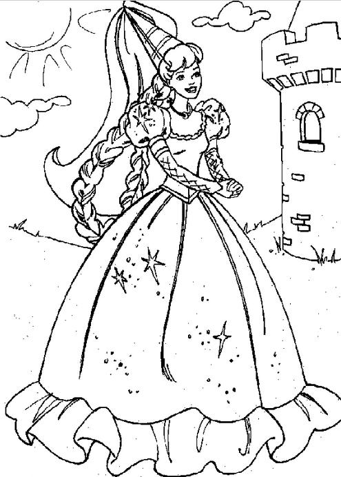 princess castle coloring page amp coloring book