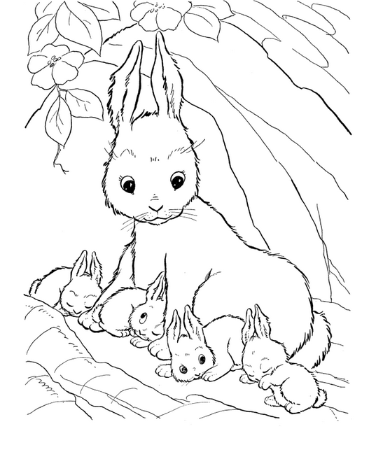 Looney Pages Christmas Coloring Tunes