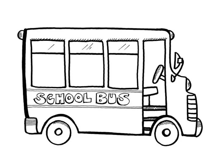 school bus coloring page amp coloring book