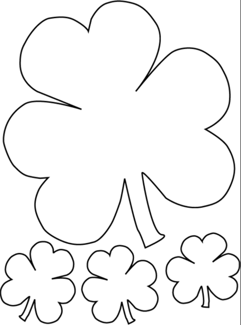 hat coloring leprechaun coloring page shamrock with hat coloring