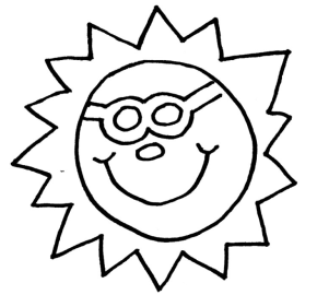 sun coloring page amp coloring book