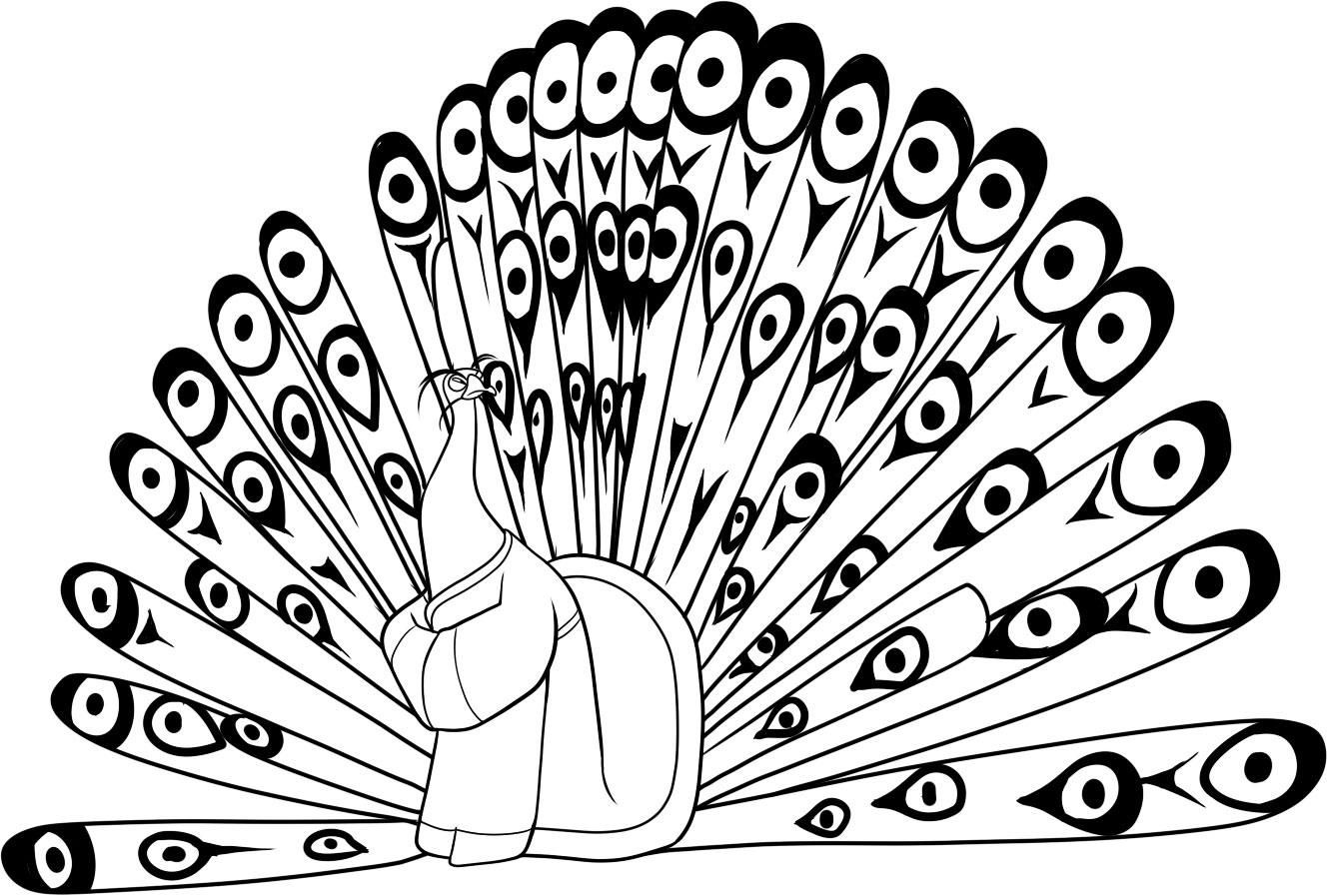 Kung Fu Panda Coloring Pages Books 100 Free And Printable