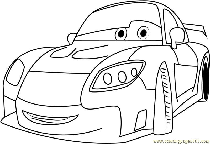 cars mazda disney coloring page free cars coloring pages