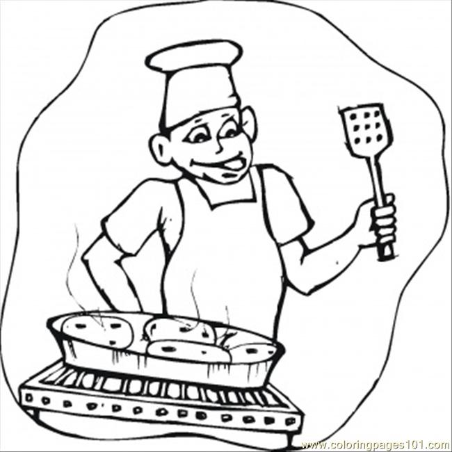 bbq coloring page  free home appliances coloring pages
