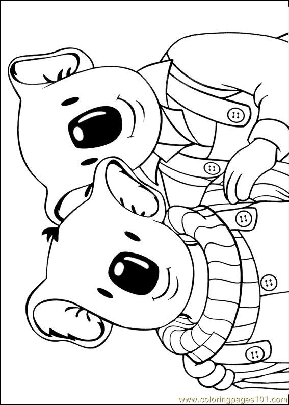 Koala Brothers 31 Coloring Page Free The Koala Brothers