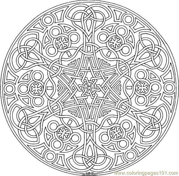 geometric page free printable
