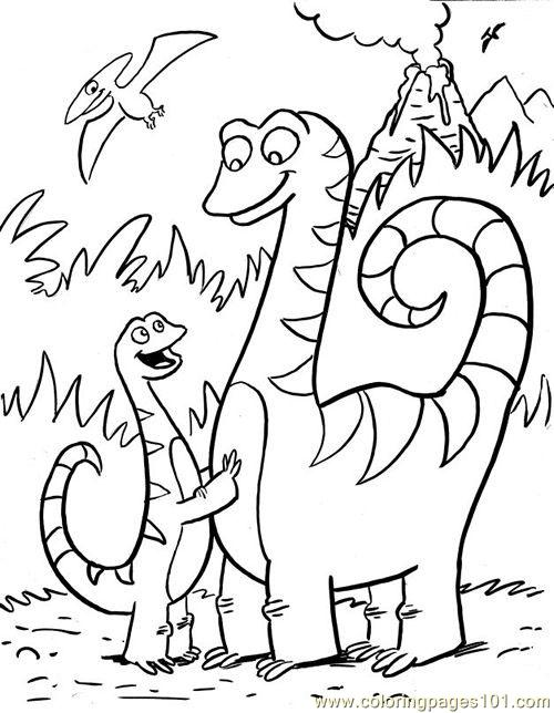 free coloring pages of dinosaur color by number