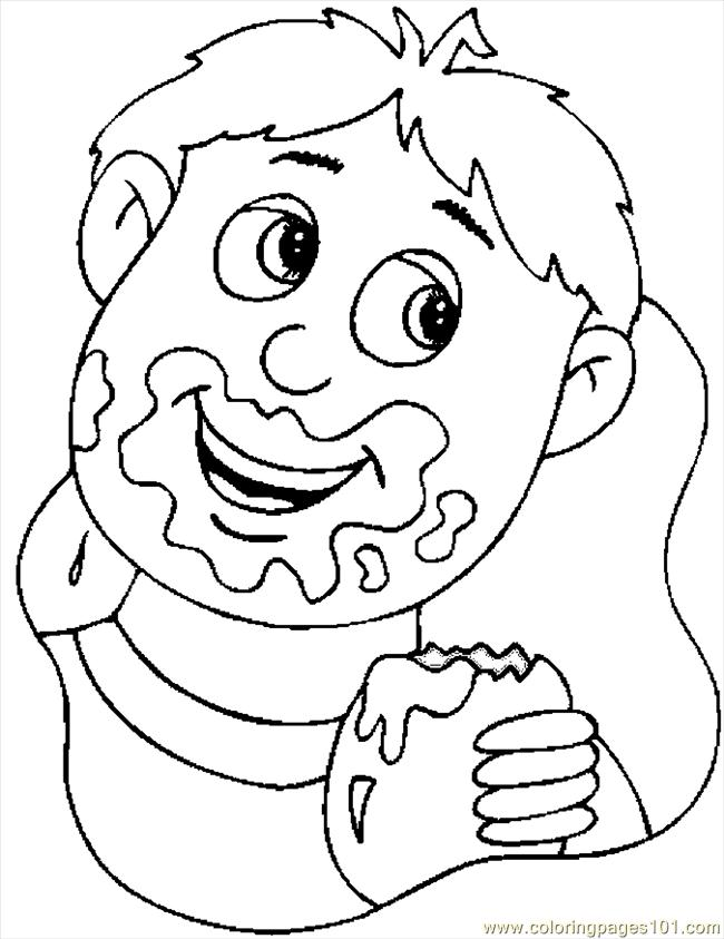Fancy Coffee Cup Coloring Page