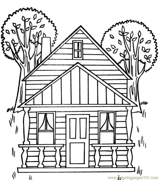 treehouse coloring pages free printable coloring page