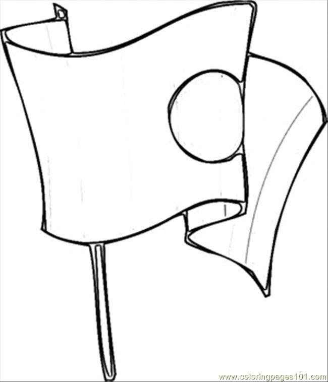 japan flag coloring page cooloring com