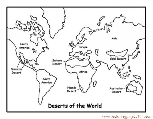 pages of deserts education gt free printable
