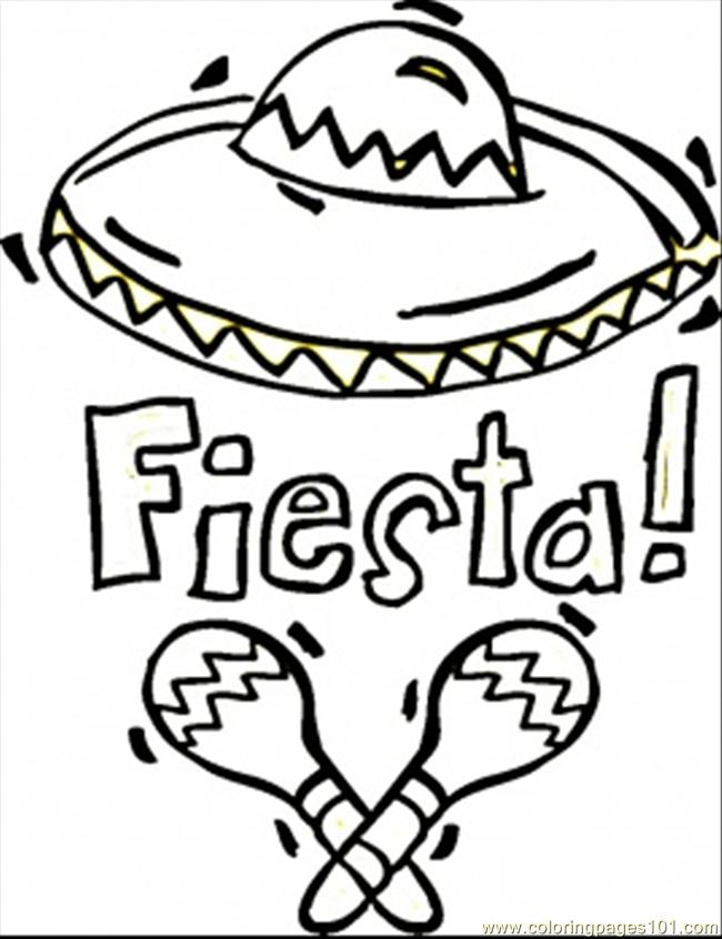 coloring pages fiesta countries gt mexico free printable coloring
