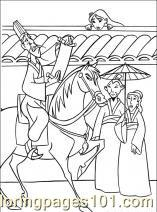 Mulan Coloring Pages Printable Mushu Coloring Page Disney Coloring