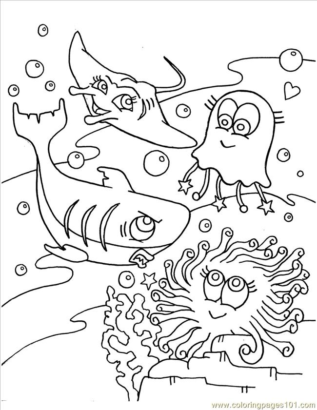 sea world coloring pages cooloring com