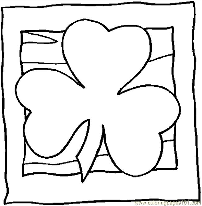 free printable coloring page shamrock 26 holidays gt st patrick s day