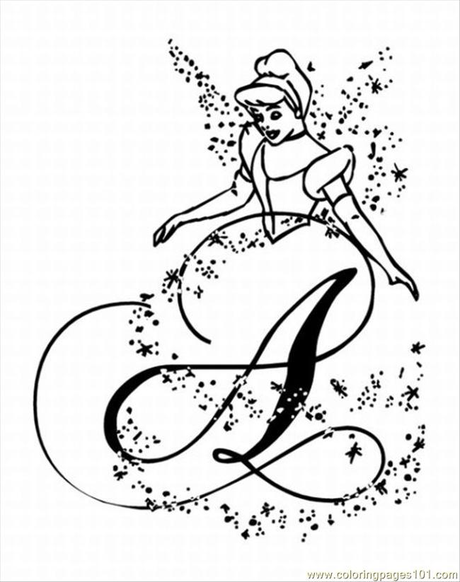 punk tinkerbell colouring pages
