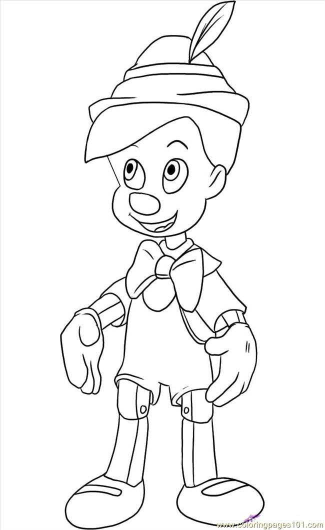 pinocchio6 coloring page free pinocchio coloring pages