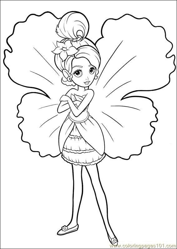 coloring barbie thumbelina 021 coloring page free barbie