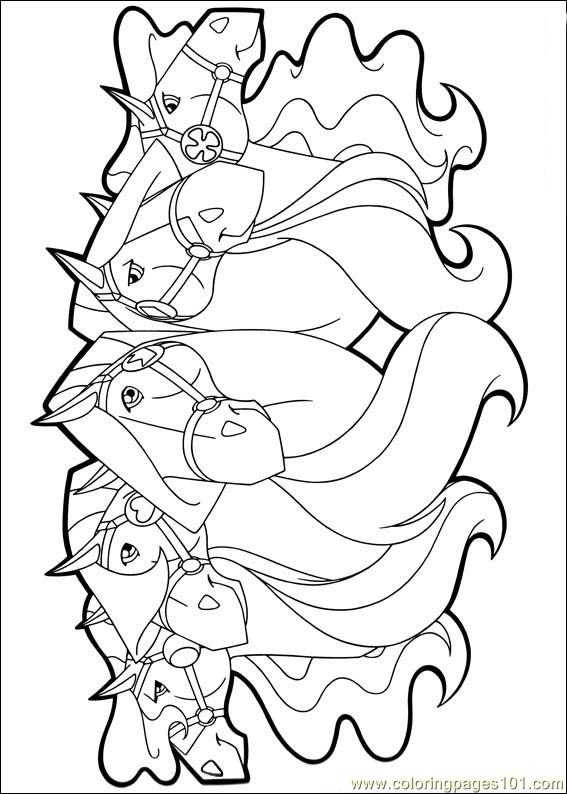 horseland 23 coloring page free horseland coloring pages