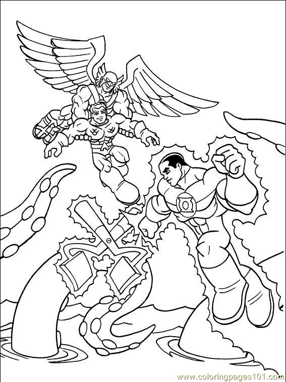 dc comics 009 14 coloring page free others coloring pages