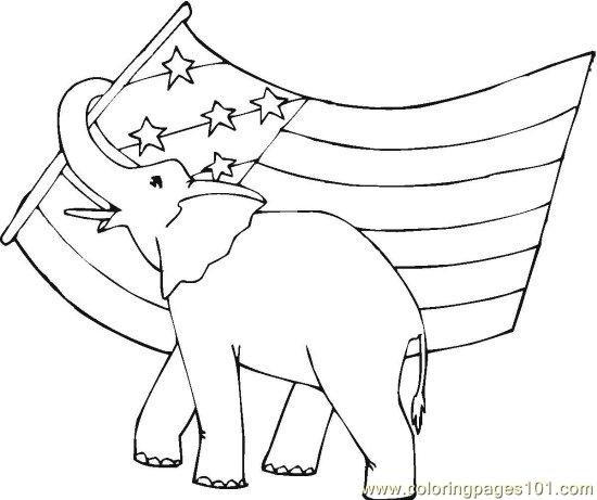 vote (17) coloring page  free politics coloring pages