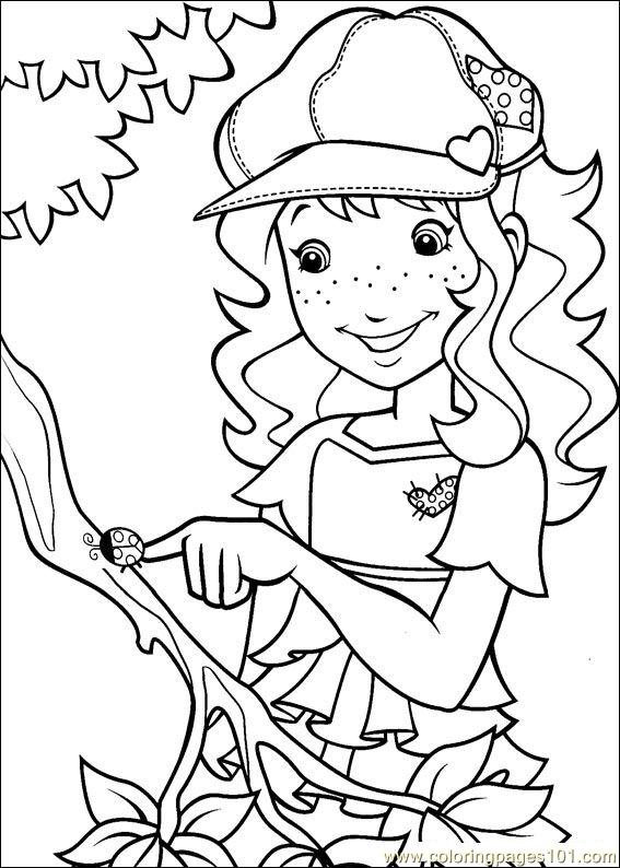 Holly Hobbie 17 Coloring Page Free Holly Hobbie