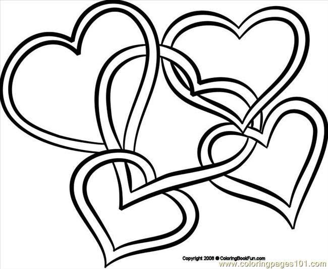 pretty coloring pages of hearts high quality coloring pages