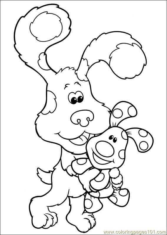 blues clues 39 coloring page free blue s clues coloring pages