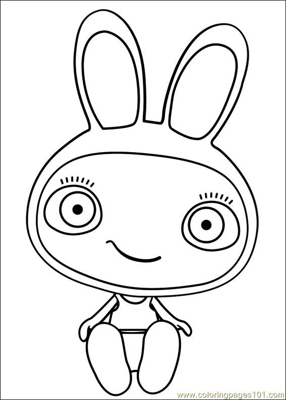 Waybuloo 09 Coloring Page Free Miscellaneous Coloring