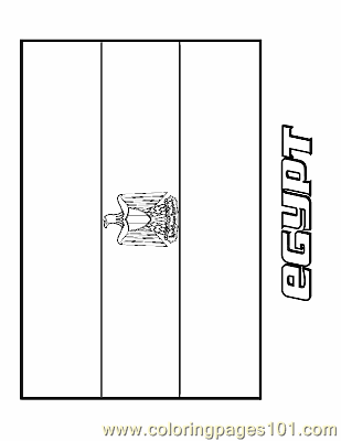 egypt coloring page free flags coloring pages coloringpages101 com
