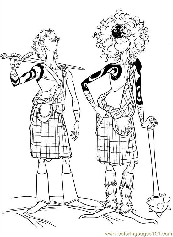 Brave 26 Coloring Page Free Brave Coloring Pages