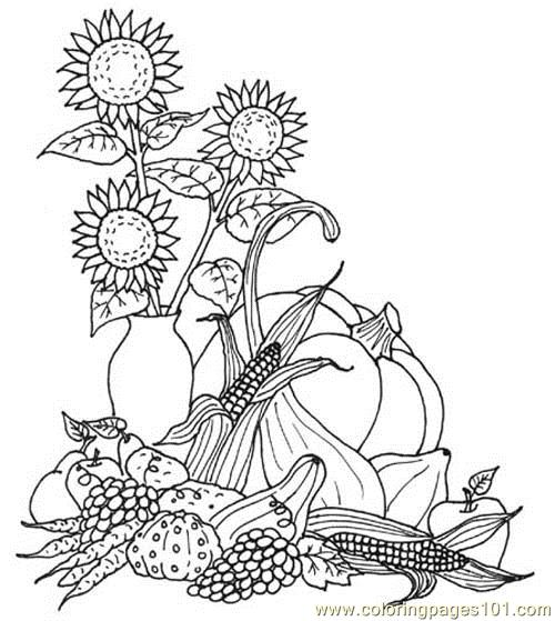 Harvest Coloring Page Free Autumn Coloring Pages Coloringpages101 Com